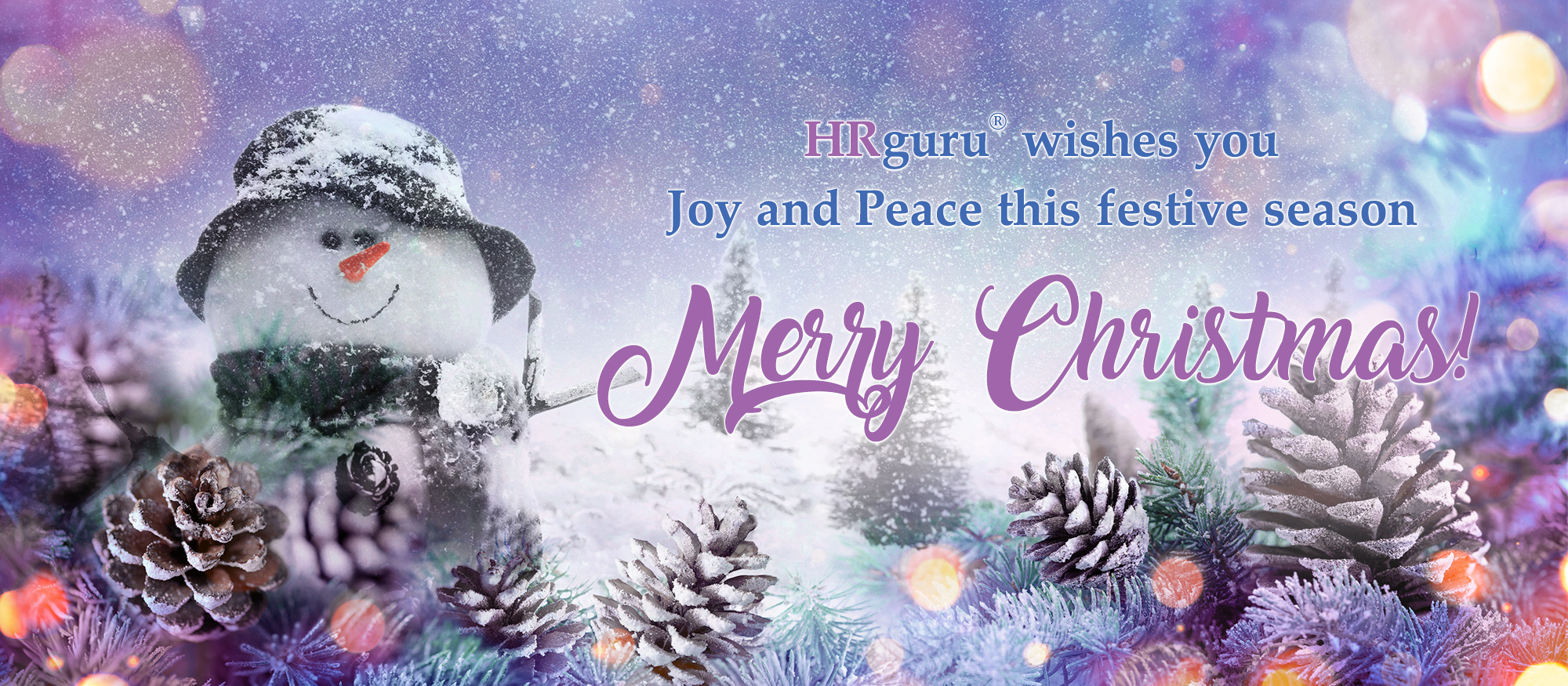 We wish you Joy and Peace this Festive Season. Merry Christmas!