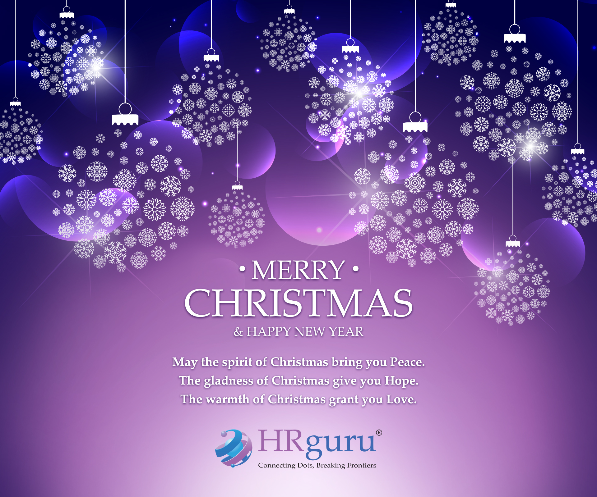Merry Christmas And Happy New Year from HR Guru