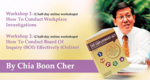 Chia Boon Cher Online Master Classes